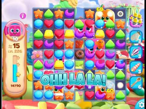 Gummy Jungle : Level 226