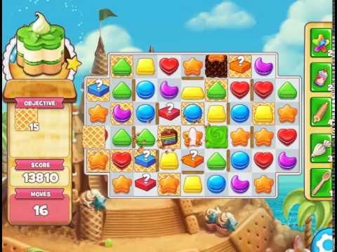 Sandy Candy Shores : Level 510