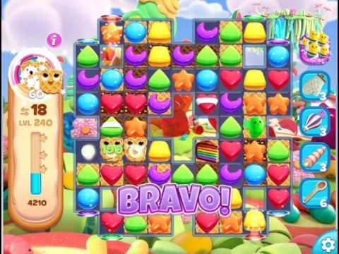 Gummy Jungle : Level 240