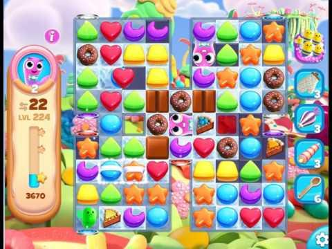 Gummy Jungle : Level 224