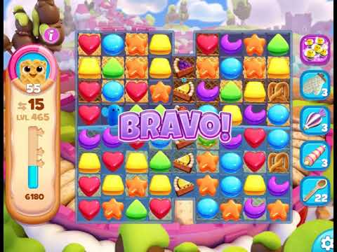 Cookie Jam Blast : Level 465