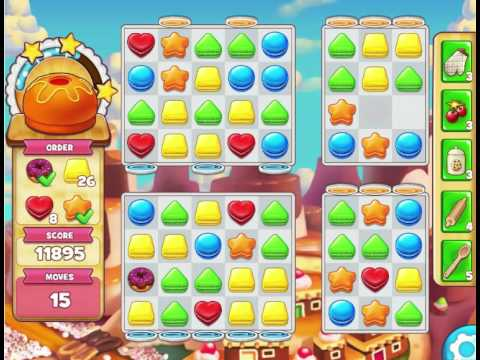 Dulce Sweets : Level 281