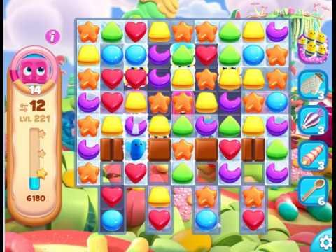 Gummy Jungle : Level 221