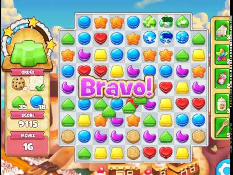 Dulce Sweets : Level 286