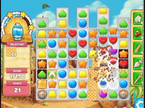 Sandy Candy Shores : Level 496