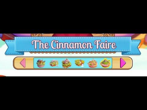 The Cinnamon Faire : Level 61