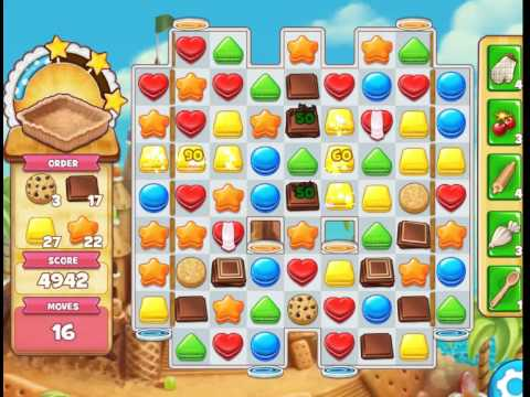 Sandy Candy Shores : Level 497